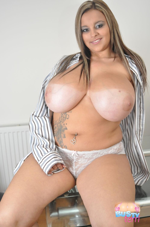 Boob Post  Busty Terri Jane Topless - Boob Post-6275