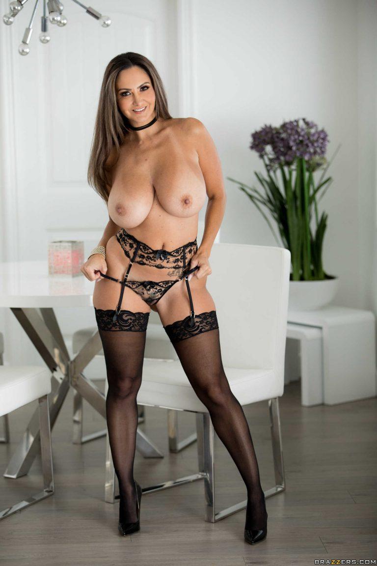 Wife Stockings Big Tits
